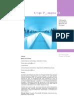 Situação Demográfica Recente em Portugal 2002-2008 - INE