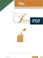 Informed e Proceso 2009
