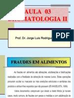 Aula 3 Bromatologia II Fanut