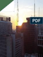 Pôr do sol no alto da Av. Paulista 2013 5