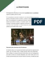PROSTITUCIÓN EN EL CENTRO DE LIMA