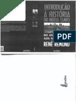 Rémond, René - Introdução à História do Nosso Tempo. Do Antigo Regime aos Nossos Dias