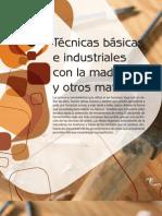 Tecnicas Basicas e Industriales Con Madera y Otros Materiales