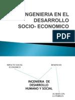 La ingenieria y el desarrollo socioeconómico
