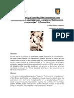 Análisis Testimonio de circunstancias, Rodrigo Lira (C.M.)