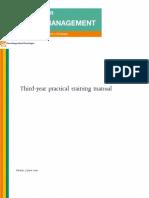 Microsoft Word Third Year Practical Training Manual