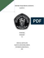 TUGAS INDIVIDU PRAKTIKUM AUDITING_YUDISTIRA_0910233029_CA_KASUS 6.doc