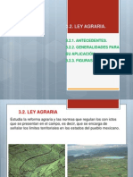 Expo de Ley Agraria