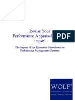 Revise Your Performance Appraisal Systems - Now!
