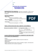 Neutropenia Fe Bril