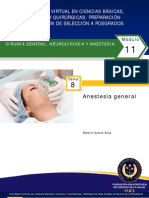 TEMA 8 Anestesia General