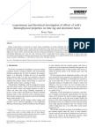 -- Experimental and theoretical investigation of effects of wall's thermophysical properties on time lag and decrement factor