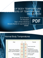CONTROL OF BODY TEMPERATURE &DISORDERS OF  ITS