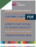 Artes Visuales Fondart Nacional
