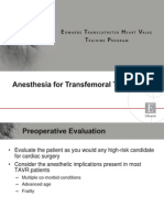 Anesthesia Module