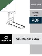 Evolve Treadmill Rev.1.3