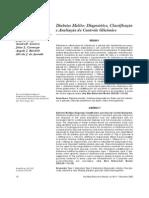 diabetes melito - diagnóstico, classificação e avaliação do controle glicêmico