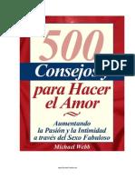 500 Ideas Para Hacer El Amor