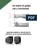 Analisis Sobre El Golpe Vertical y Horizontal