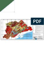 Mapa Geológico da Região Metropolitana de São Paulo e Localização das Pedreiras (2006)