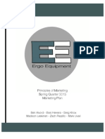 Ergo Equipment Marketing Plan
