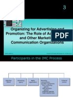 Organizing for Advertising and Promotion the Role of Ad Agencies