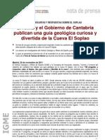 Nota Prensa Guia Soplao