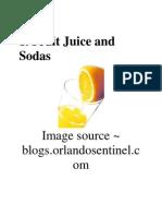 Fruit Juice ....