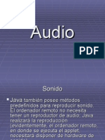 Audio en Java