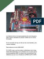 La Historia de Los Microprocesadores de Amd de Gama Baja