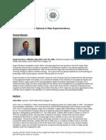 FLP2332 Diploma in Ship Superintendency Course Faculty