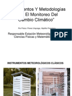 Instrumentos Meteorologicas Clasicos