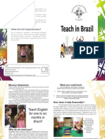Teaching Brochure Letter Size