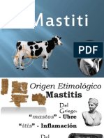 Mastitis (Cambio de Categoría)