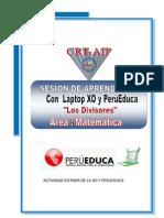 Sesion de Clase Con Perueduca-matematica
