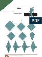 Origami - Alien
