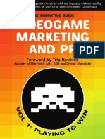 Video Game Marketing and Public Relations (PR)
