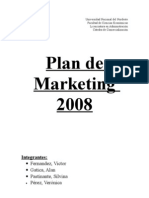 Plan de Marketing 2008