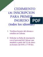calusacprocedimientodeinscripcion