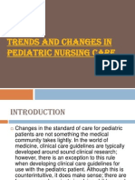 Trends and Changes in Pediatrics