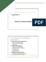 Cap 4- Diseño Sistema Mant