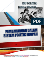 Pembaharuan Dalam Sistem Politik Eropah