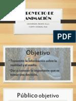 PROYECTO DE ANIMACIÓN
