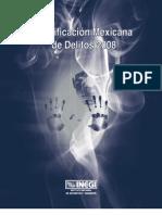 Clasificacion Mexicana de Delitos 2008