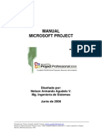 Manual Microsoft Project