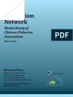 Internews Earth Journalism Network Media Study of Chinese Fisheries Reporting