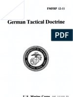 FMFRP 12-11 German Tactical Doctrine