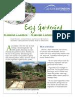 Gardening - Planning The Garden