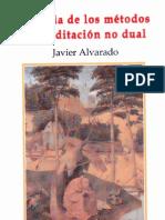 Alvarado Javier Historia de Los Metodos de Meditacion No Dual PDF