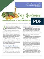 Gardening - Disease Control Manual